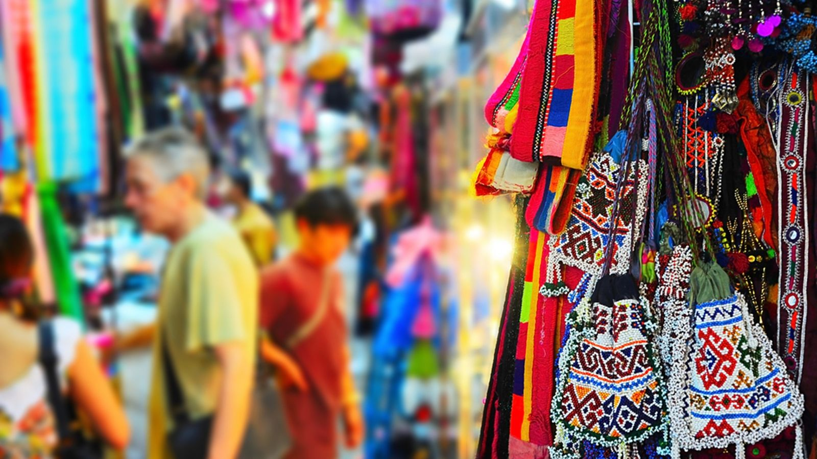 Weekend shopping at Chatuchak market